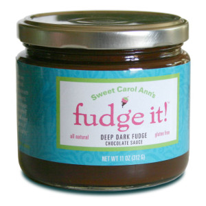 Sweet Carol Ann's Fudge It! Deep Dark Fudge