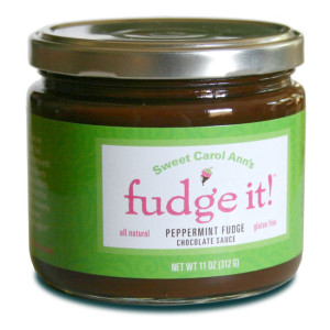 Sweet Carol Ann's Fudge It! Peppermint Fudge