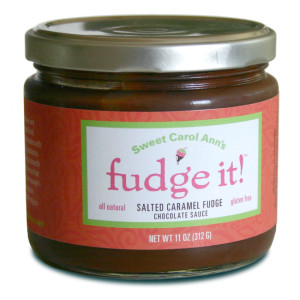 Sweet Carol Ann's Fudge It! Salted Caramel Fudge