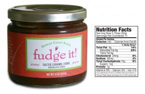 Sweet Carol Ann's Fudge It! Salted Caramel Fudge